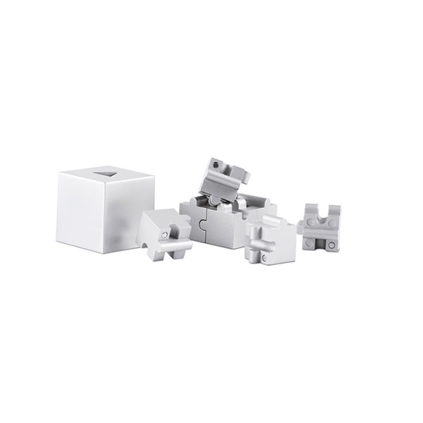 Паззл 3D AR1810-16 KUBZLE, матовое серебро