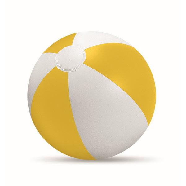 Мяч надувной пляжный IT1627-08 PLAYTIME, желтый