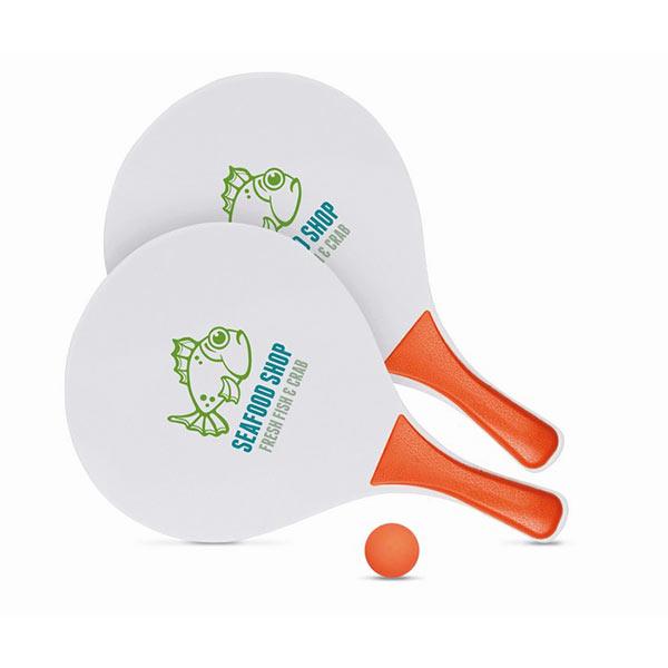 Набор для пляжного тенниса IT1911-10 MATCH, оранжевый