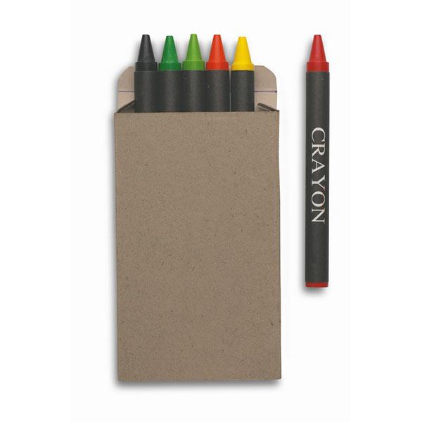 Набор восковых карандашей IT2172-99 BRABO, разноцветный