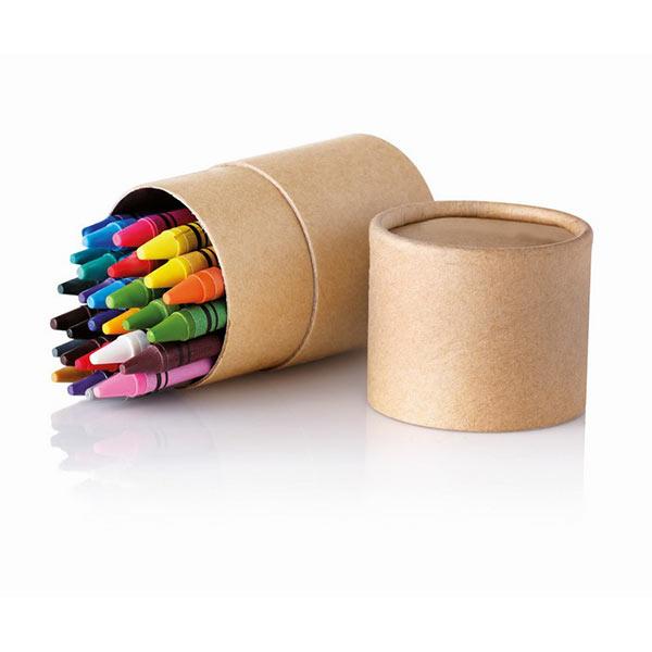 Набор восковых карандашей IT2349-13 STRIPER, бежевый
