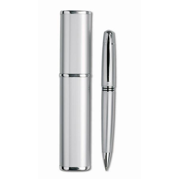 Ручка в футляре IT3177-14 OREGON, Серебряный
