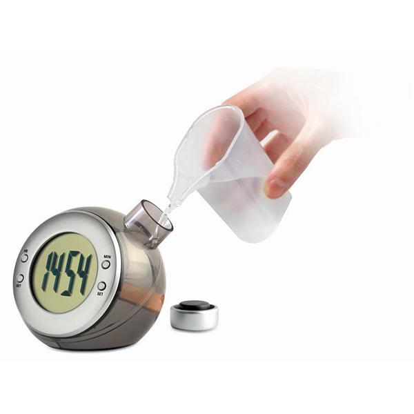 Часы настольные IT3828-16 DROPPY, матовое серебро