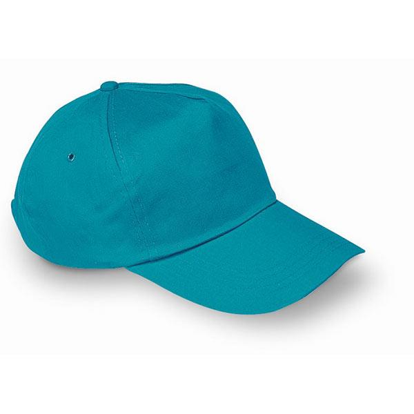 Бейсболка KC1447-12 GLOP CAP, бирюзовый