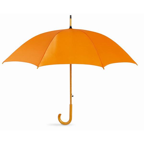 Зонт-трость KC5131-10 CUMULI, оранжевый