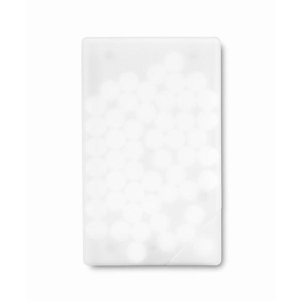 Драже в футляре KC6637-06 MINTCARD, белый