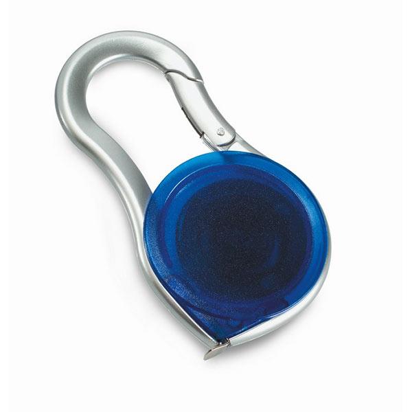 Рулетка 2 м KC6751-23 METRICA, прозрачный синий