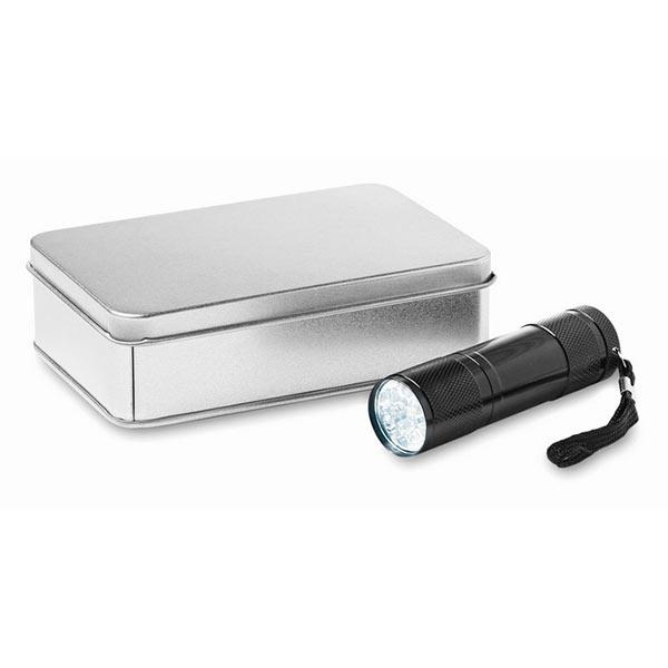Фонарь KC6860-03 LED PLUS, черный