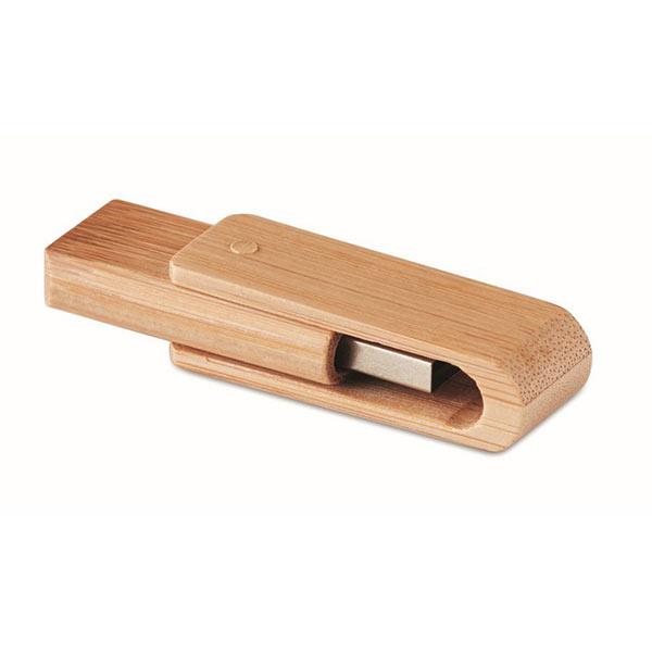Флешка из бамбука 16GB MO1202-40-16G TECHI, дерево