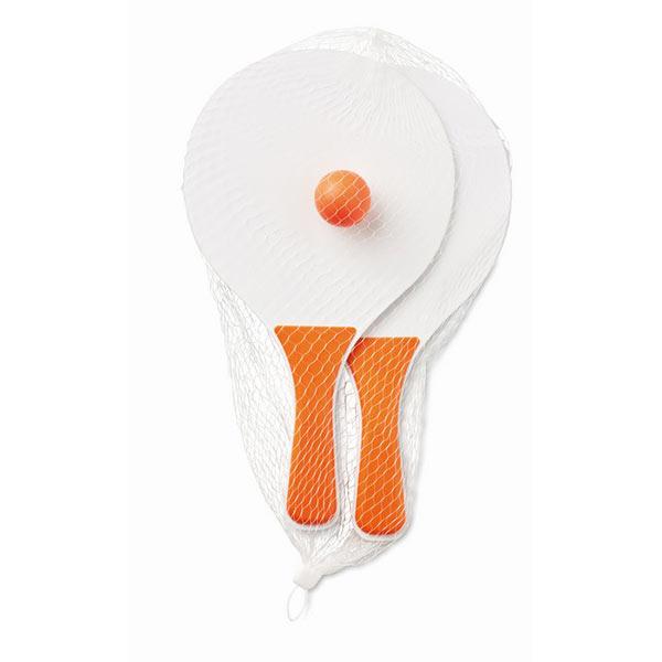 Теннис пляжный MO1911-10 MINI MATCH, оранжевый