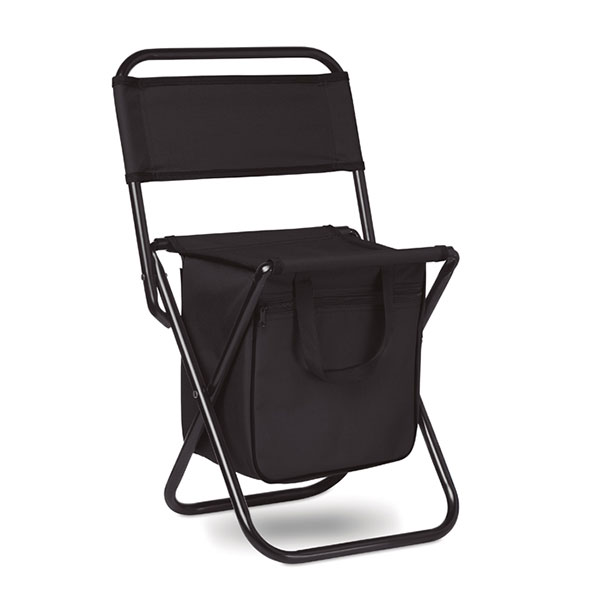 Складной стул /кулер MO6112-03 SIT & DRINK, черный