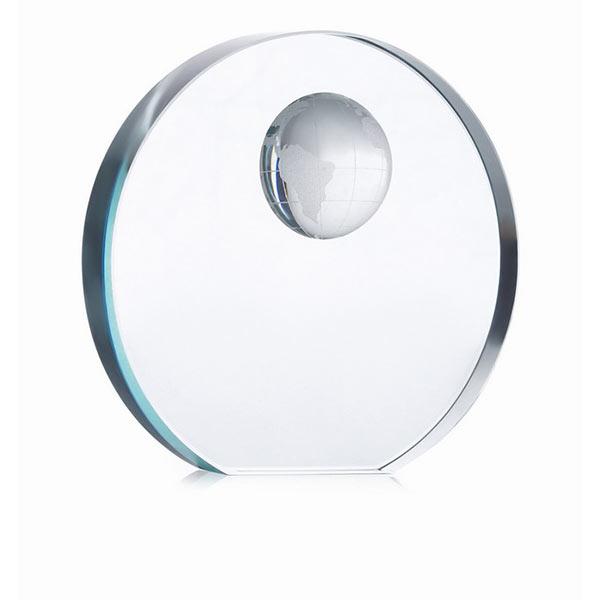 Глобус пресс-папье MO7183-22 MONDAL, прозрачный