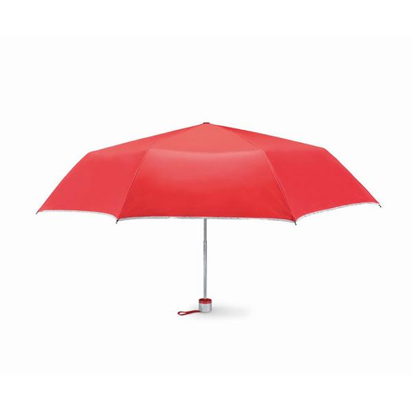 Зонт складной MO7210-05 CARDIF, красный