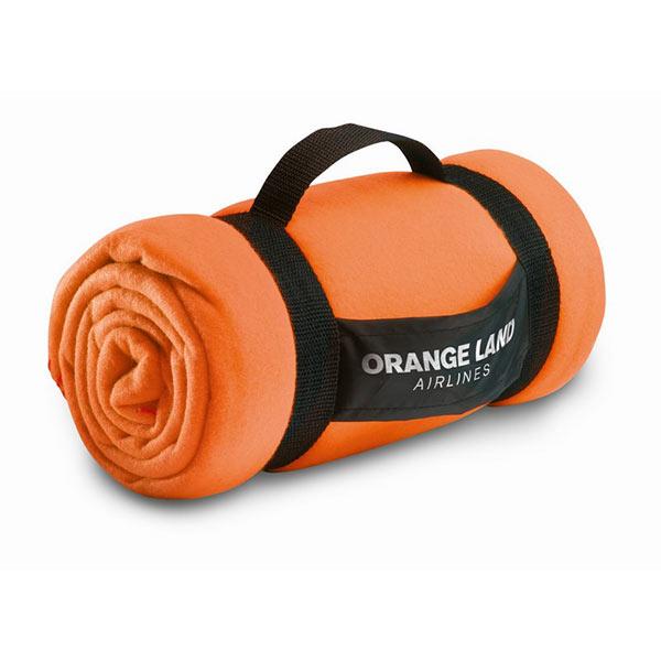 Плед MO7245-10 STAVENGER, оранжевый