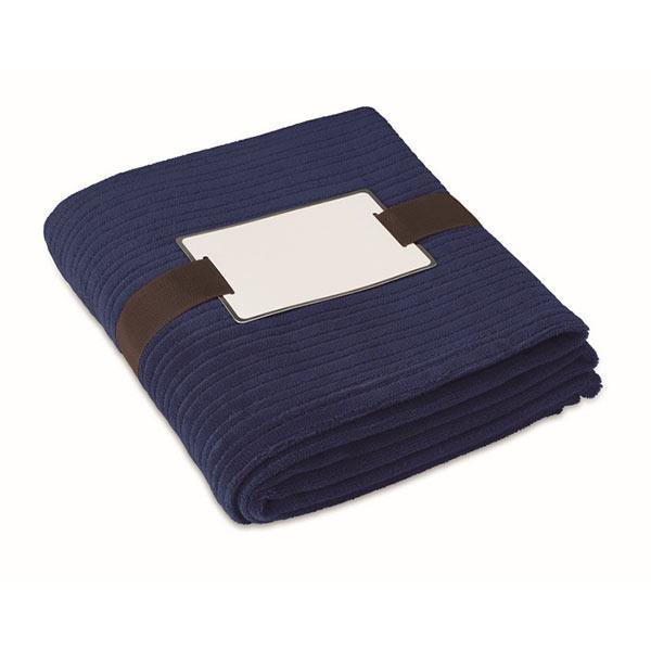Плед MO7246-04 CAP CODE, синий