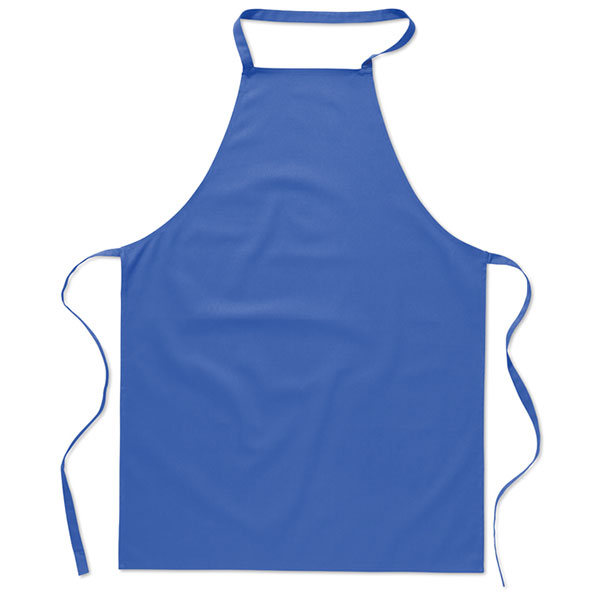 Кухонный фартук из хлопка MO7251-37 KITAB, темно-синий