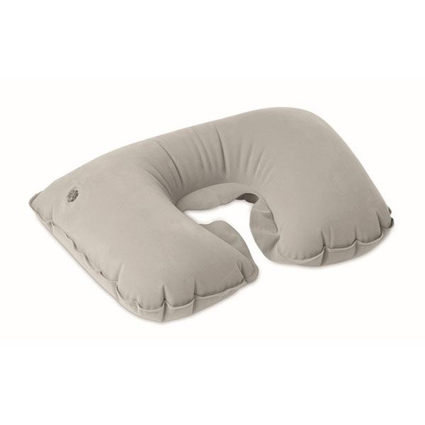 Подушка надувная в чехле MO7265-07 TRAVELCONFORT, Серый