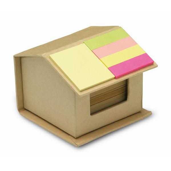 Стикеры из картона MO7304-13 RECYCLOPAD, бежевый