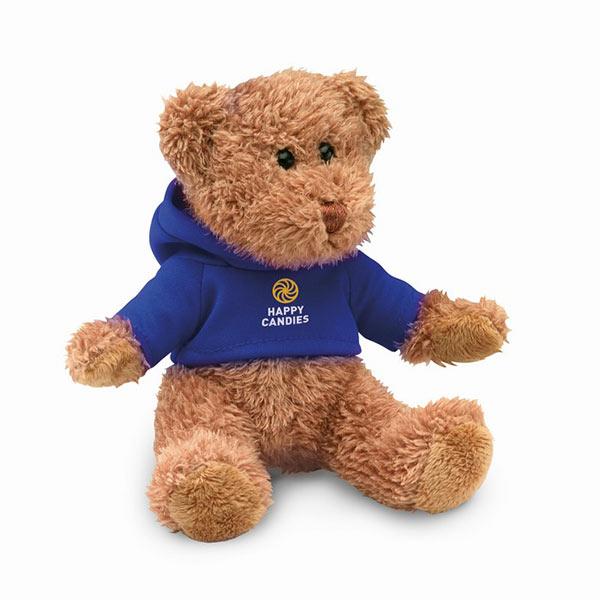 Медведь в футболке MO7375-04 JOHNNY, синий