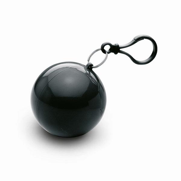 Дождевик в круглом чехле MO7421-03 NIMBUS, черный