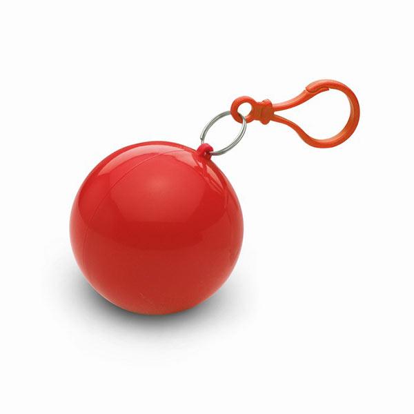 Дождевик в круглом чехле MO7421-05 NIMBUS, красный