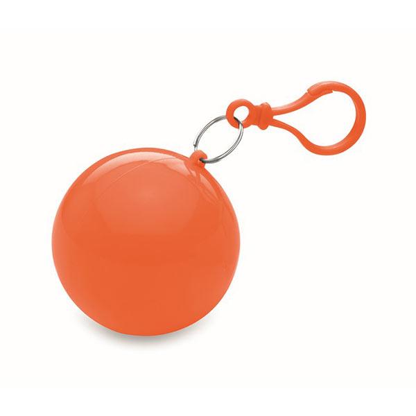 Дождевик в круглом чехле MO7421-10 NIMBUS, оранжевый