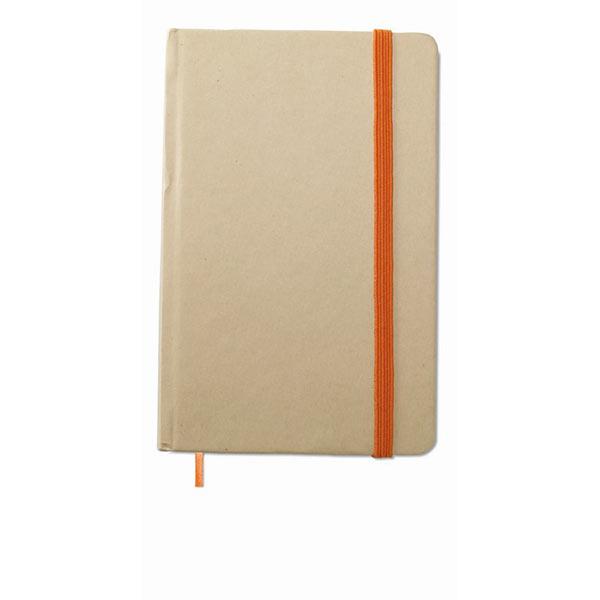 Блокнот MO7431-10 EVERNOTE, оранжевый