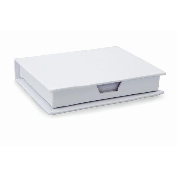 Блокнот со стикерами MO7627-06 MEMOKIT, белый