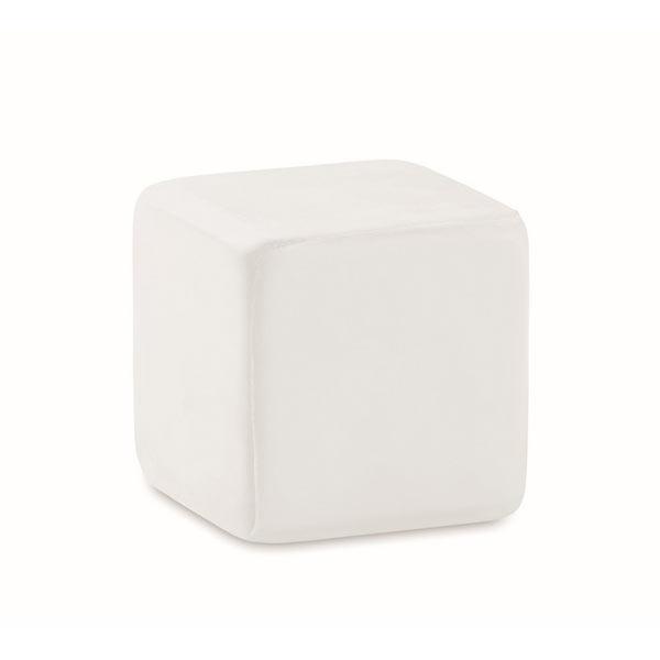 Антистресс «кубик» MO7659-06 SQUARAX, белый
