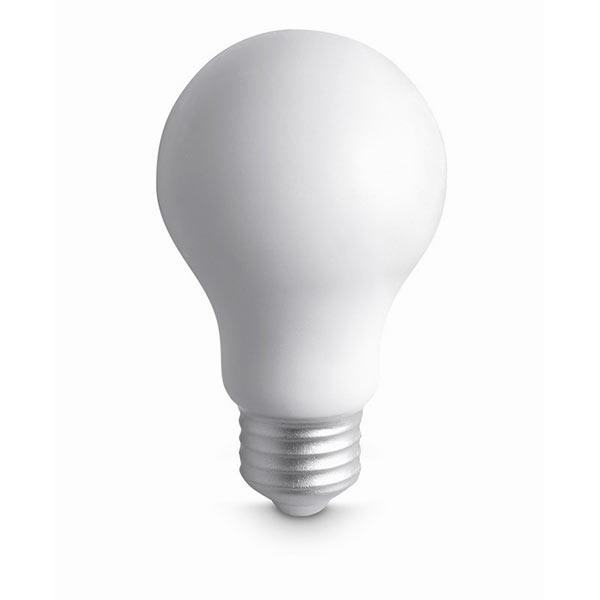 Антистресс «лампочка» MO7829-06 LIGHT, белый