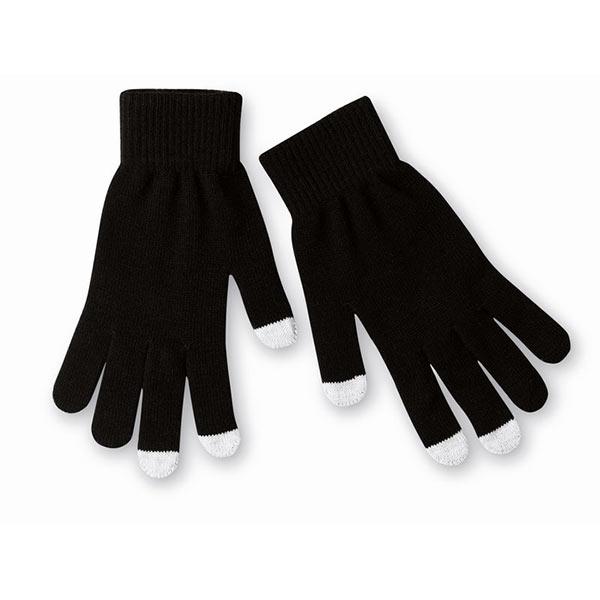 Перчатки для сенсорных экранов MO7947-03 TACTO, черный