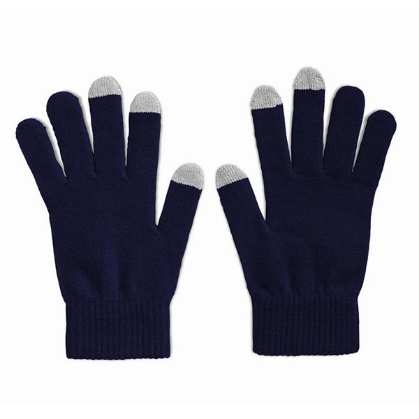 Перчатки для сенсорных экранов MO7947-04 TACTO, синий