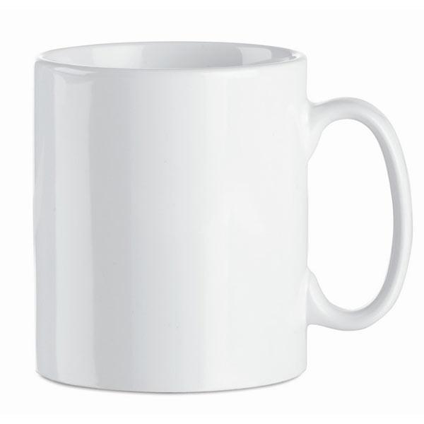 Кружка керамическая MO8040-06 SUBLIM, белый
