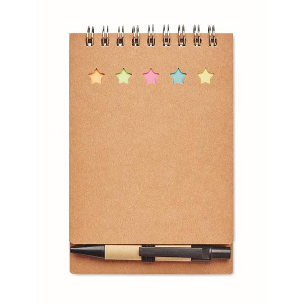 Блокнот с ручкой MO8107-13 MULTIBOOK, бежевый