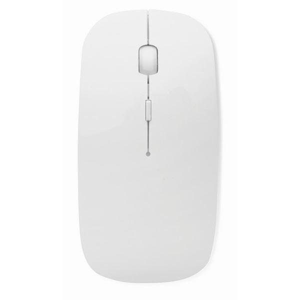 Мышь компьютерная MO8117-06 CURVY, белый