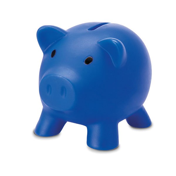 Копилка «Свинка» MO8132-04 SOFTCO, синий