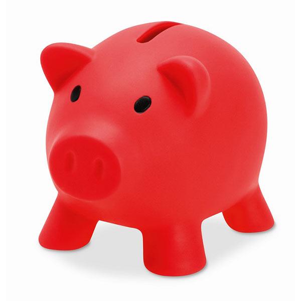 Копилка «Свинка» MO8132-05 SOFTCO, красный
