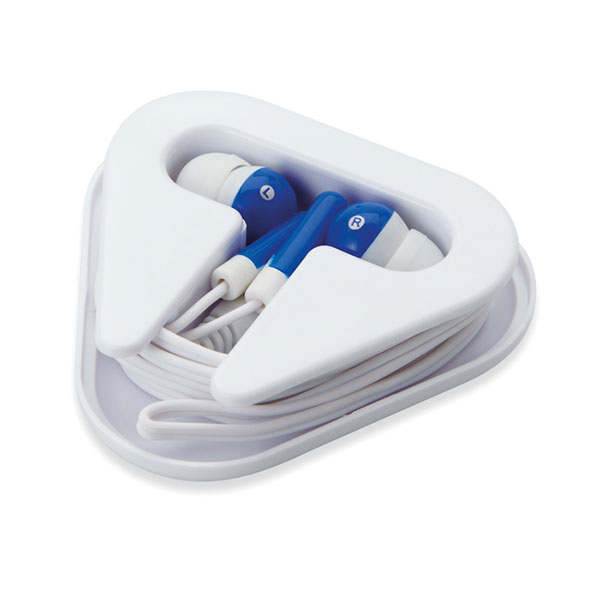 Наушники в пластиковом футляре MO8149-04 MUSIPLUG, синий