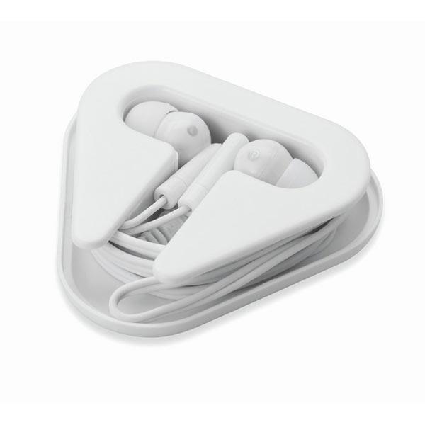 Наушники в пластиковом футляре MO8149-06 MUSIPLUG, белый