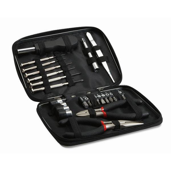 Набор инструментов MO8241-03 PAUL, черный