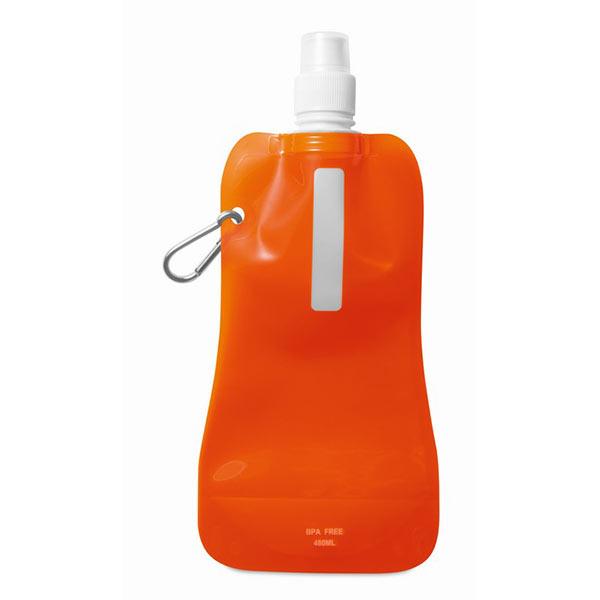 Фляга MO8294-29 GATES, прозрачный оранжевый