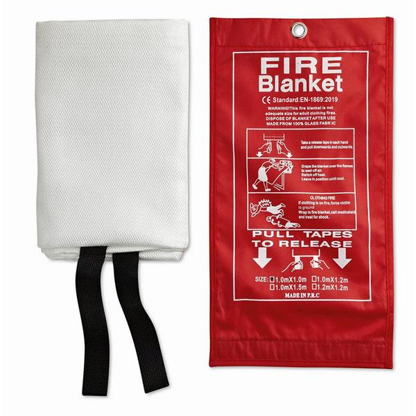 Противопожарное одеяло MO8373-05 BLAKE, красный
