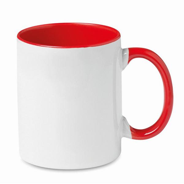 Кружка MO8422-05 SUBLIMCOLY, красный