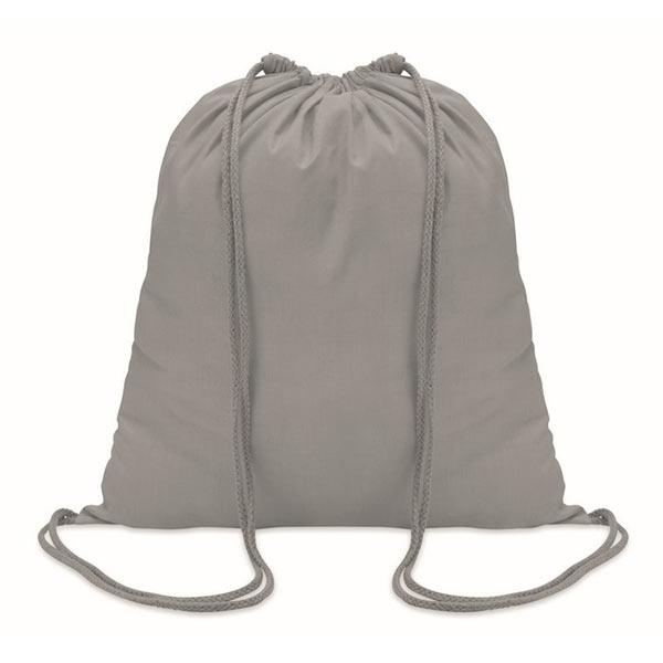 Рюкзак на шнурках 100г/см MO8484-07 COLORED, Серый