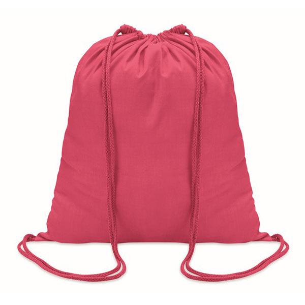 Рюкзак на шнурках 100г/см MO8484-38 COLORED, фуксия