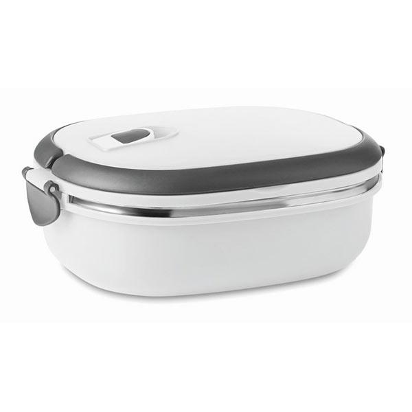 Емкость для продуктов MO8517-06 DELUX LUNCH, белый