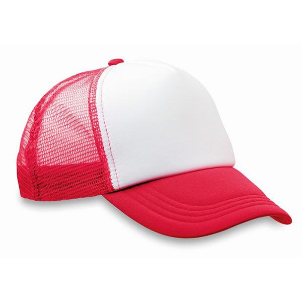 Бейсболка MO8594-05 TRUCKER CAP, красный
