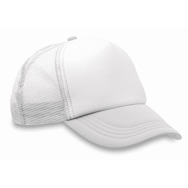 Бейсболка MO8594-06 TRUCKER CAP, белый