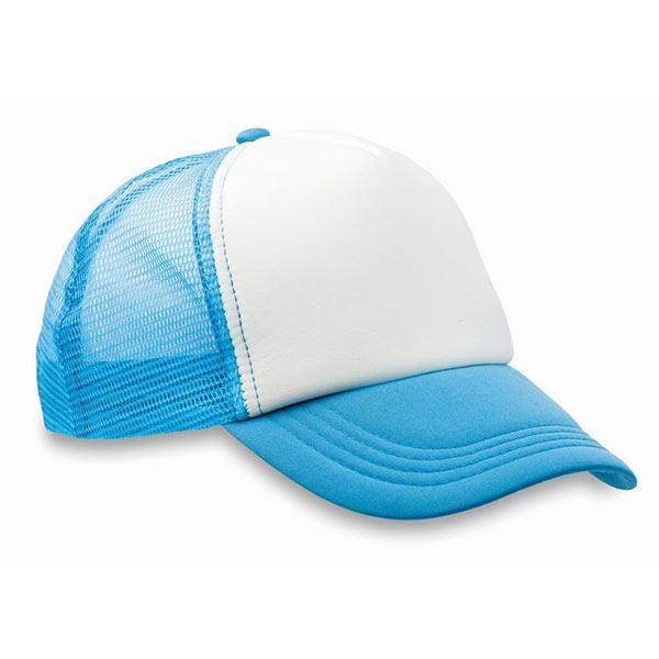 Бейсболка MO8594-12 TRUCKER CAP, бирюзовый