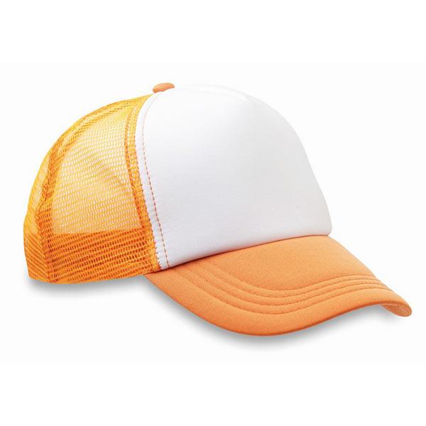 Бейсболка MO8594-71 TRUCKER CAP, флуоресцентный оранжевый